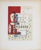 Suite de 180 Dessins Impressões colecionáveis por Pablo Picasso