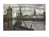 La Rochelle Art by Bernard Buffet