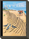Birds of a Feather - The New Yorker Cover, July 11, 2011 Framed Print Mount by Mark Ulriksen