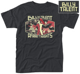 Billy Talent- Afraid Of Heights Album Art (Front/Back) Shirts