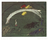 Noah and the Rainbow Collectable Print by Marc Chagall