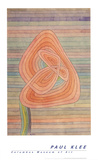 Lonely Flower Affiche par Paul Klee