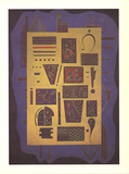 Hieroglyph Collectable Print by Wassily Kandinsky