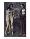 La Vie (Life) Posters por Pablo Picasso