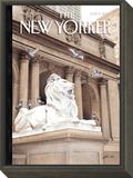 The New Yorker Cover - June 3, 2002 Framed Print Mount by Harry Bliss