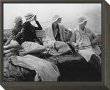 Vogue - July 1928 - Yachting Framed Print Mount by Edward Steichen