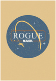 NASA Retro Rogue-1 Poster