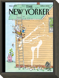 Rite of Spring - The New Yorker Cover, April 2, 2012 Framed Print Mount by George Booth