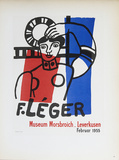 Museum Morsbroich Collectable Print by Fernand Leger
