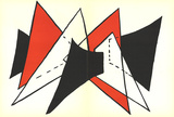 DLM No. 141 Pages 4,5 Collectable Print by Alexander Calder