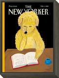 The New Yorker Cover - February 1, 1999 Framed Print Mount by Maira Kalman