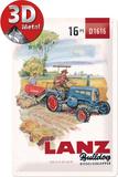 Lanz - Diesel-Schlepper Tin Sign