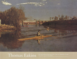 The Champion Single Sculls (Max Schmitt in a Single Skull) Prints by Thomas Eakins