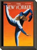 The New Yorker Cover - September 26, 2016 Framed Print Mount by Mark Ulriksen