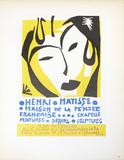 Maison de la Pensee Francaise Samletrykk av Henri Matisse