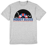 The Moody Blues- White Satin Record T-Shirt