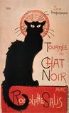 Tournee du Chat Noir Prints by Theophile Alexandre Steinlen