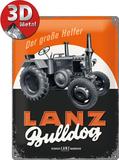 Lanz Bulldog Plaque en métal