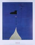 Peinture:(Personnage: Les freres Fratellini) Posters por Joan Miro