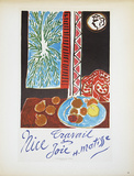 Nice Travail & Joie Collectable Print by Henri Matisse