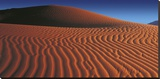Namibian Dunes Stretched Canvas Print by Chris Simpson