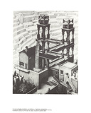 Vandfald Samlertryk af M.C. Escher