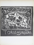 Toros en Vallauris Collectable Print by Pablo Picasso
