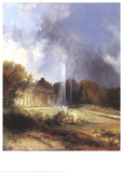 Sanssouci Palace Poster by Carl Blechen