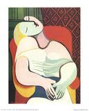 Il sogno Stampe di Pablo Picasso