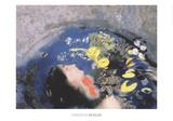 Ophelie Print by Odilon Redon