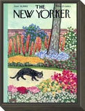 The New Yorker Cover - June 18, 1960 Framed Print Mount by William Steig