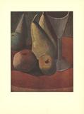 Fruit and Wineglass Affiches par Pablo Picasso