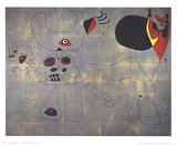 The Bullfight Collectable Print by Joan Miro