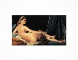 La Grande Odelisque Samletrykk av Dominique Ingres