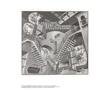 Relativity Collectable Print by M.C. Escher