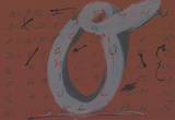 DLM No. 200 Pages 12,13 Collectable Print by Antoni Tapies
