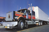 Big Rig Collectable Print by  Unknown