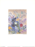 The Arum Lilies Bouquet Collectable Print by Raoul Dufy
