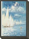 The New Yorker Cover - June 13, 1959 Framed Print Mount by Arthur Getz