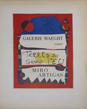Terres de Grand Feu Collectable Print by Joan Miro