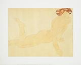 Femme Nue, allongee sur le ventre Poster by Auguste Rodin