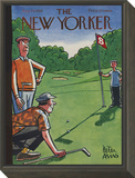 The New Yorker Cover - August 25, 1956 Framed Print Mount by Peter Arno