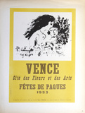Vence Fetes de Paques Collectable Print by Marc Chagall