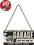 Garage Tin Sign