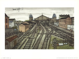 La Gare Prints by Bernard Buffet