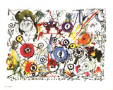 Meta-Harmony-Dislocate Collectable Print by Jean Tinguely