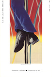 Study for Fire Pole Samlertryk af James Rosenquist