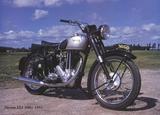 Norton Es2 500cc 1951 Print by Forlag Hakan Eriksson