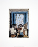 Notebook Seven (Study for the Pedestal Table) Collectable Print by Pablo Picasso