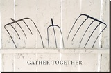 Gather Together Stretched Canvas Print by Bill Coleman